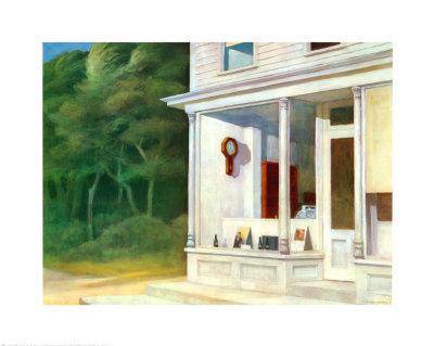 Seven A.M. Poster by Edward Hopper