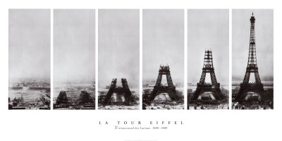 Tour Eiffel Art Print