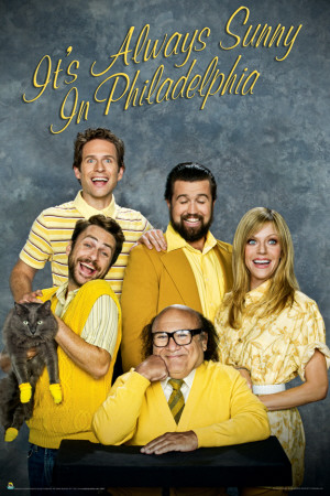 It's Always Sunny In Philidelphia - Family Portrait Poster