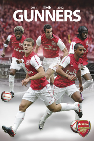 Arsenal- Players 2011-2012 Photo