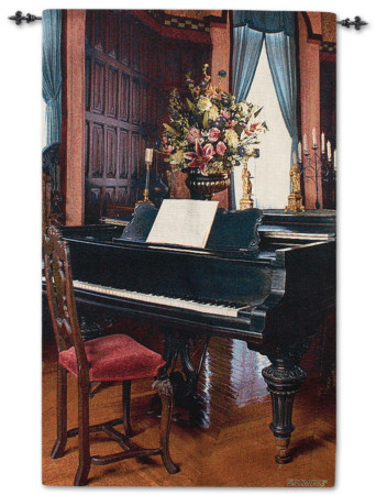 Biltmore Music Room TAPIZ DE PARED