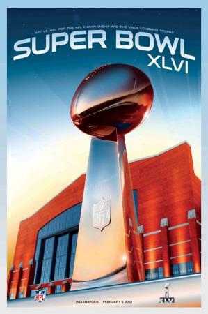 Super Bowl XLIVI - 2012 ThemeArt Prints