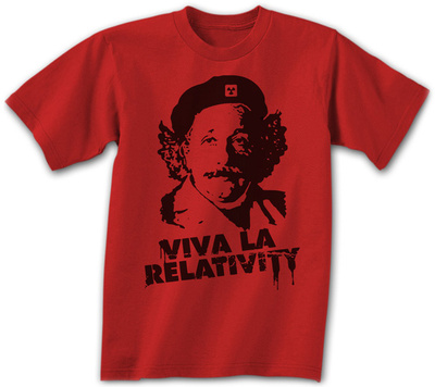 Albert Einstein - Viva La Relativity T-Shirt