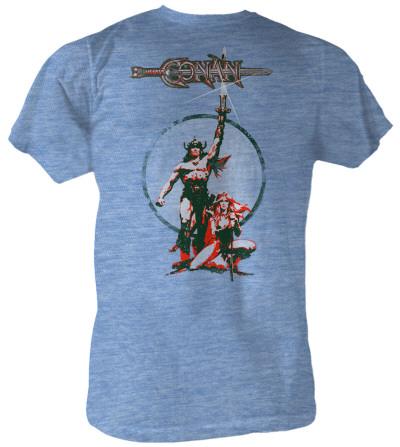 Conan the Barbarian - Movie Poster T-shirts