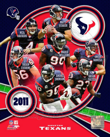 Houston Texans 2011 Team Composite Photo