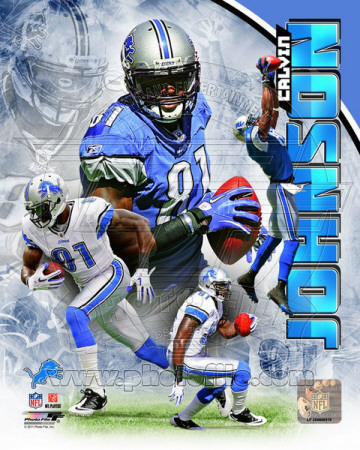 Calvin Johnson 2011 Portrait Plus Photo