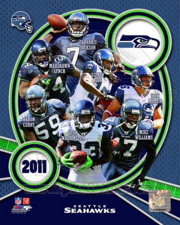 NFL Seattle Seahawks 2011 Team Composite Photo