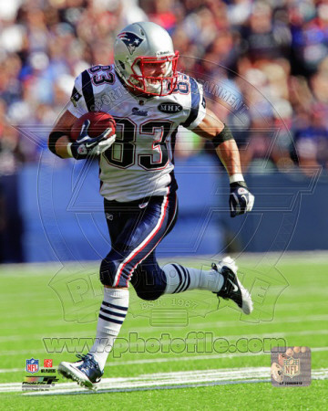 Wes Welker 2011 Action Photo