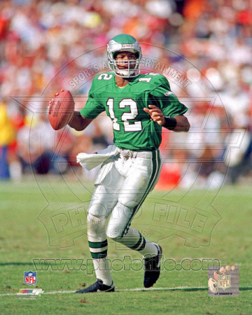Randall Cunningham Action Photo
