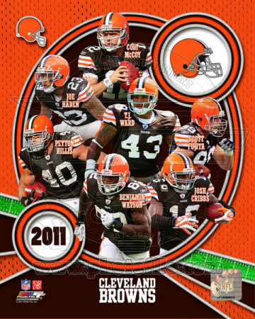 Cleveland Browns 2011 Team Composite Photo