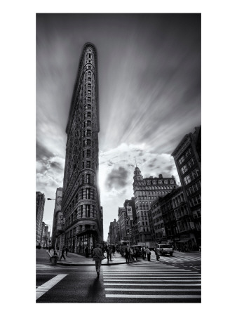 The Edges of the Flatiron Premium Photographic Print