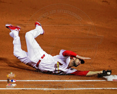 Chris Carpenter Game 1 of the 2011 World Series Action (5) Photo