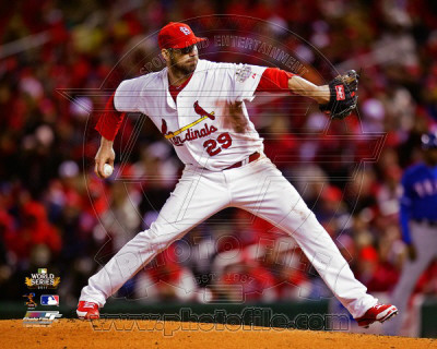 Chris Carpenter Game 1 of the 2011 World Series Action (2) Photo