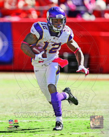 Percy Harvin 2011 Action Fotografa