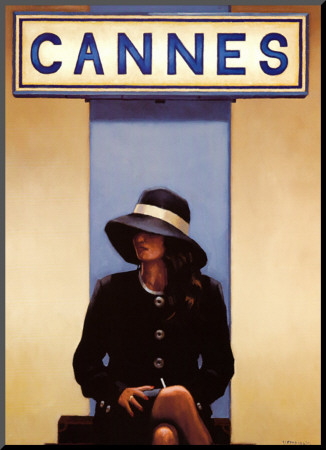 Exit Eden Mounted Print by Jack Vettriano