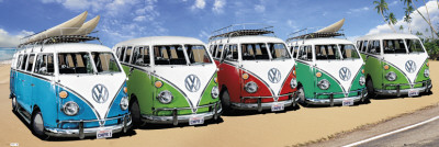 VW-Campers Posters