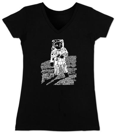 Juniors: V-Neck - Astronaut Womens V-Necks