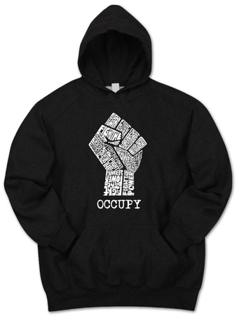 Hoodie: Occupy Wall Street Fight The Power Fist T-Shirt