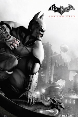 Batman Arkham City-Cover Poster