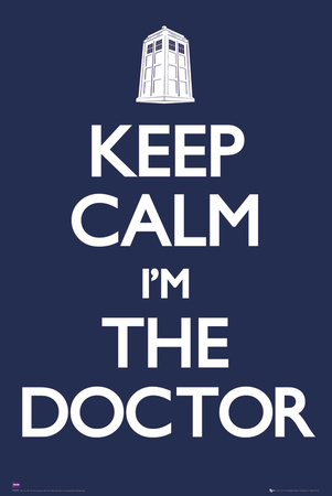 Doctor Who-Keep Calm Juliste