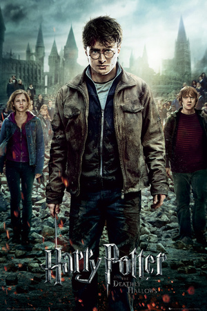 Harry Potter 7-Part 2 One Sheet Póster