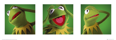 The Muppets-Kermit Art Print