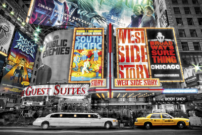 New York-Theatre Plakat