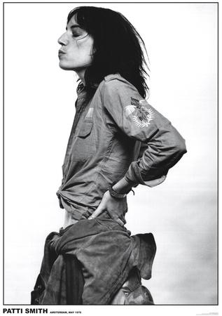 Patti Smith, Amsterdam, 1976 Plakater