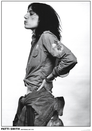 Patti Smith-Amsterdam 1976 Prints