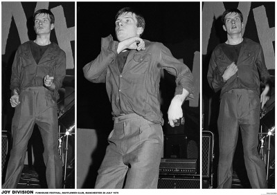 Joy Division-Ian Curtis 3 Pics Manchester 79 Photo