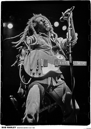 Bob Marley-Brighton 80 Posters