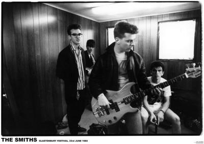 Smiths-Glastonbury 1984 Plakater