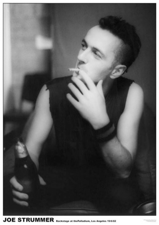 Joe Strummer-Paladium 82 Poster