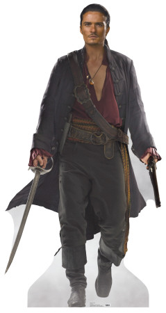 Pirates of the Carribean: At Worlds End - Will Turner Lifesize Standup Cardboard Cutouts