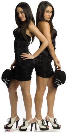 The Bella Twins - WWE Cardboard Cutouts