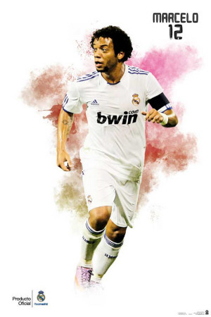 Real Madrid- Marcelo Affiche