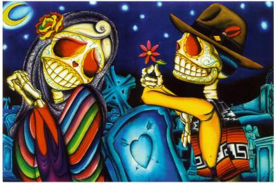Noche De Los Muertos Prints by Dave Sanchez