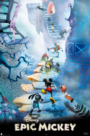 Epic Mickey Affiche