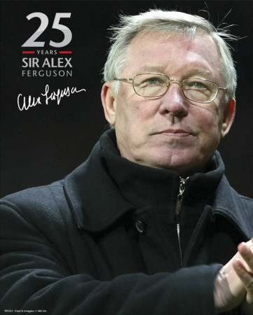 Manchester United-Sir Alex 25 Years Photo