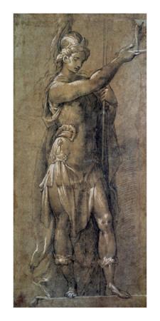 Roman God Mars Prints by  Crespi