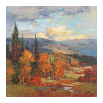 Autumn Mountains Prints by K. Park