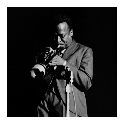 Miles Davis Print by Lee Tanner