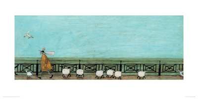Moses Follows That Picnic Basket Giclee Print by Sam Toft