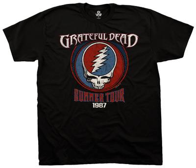 Grateful Dead- Summer '87 T-shirts