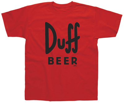 The Simpsons - Duff Beer T-Shirt