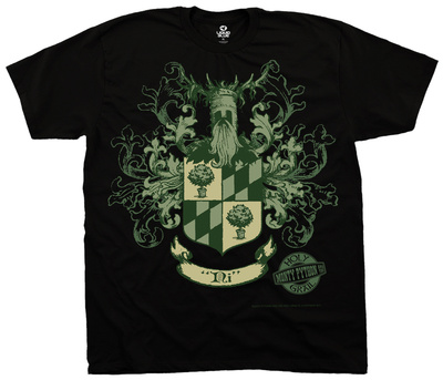 Monty Python- Knights Of Ni Crest Tシャツ