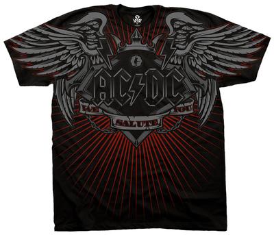 AC/DC- Salute Shirts