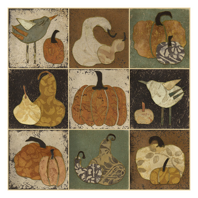 Harvest Collection Posters by Carol Kemery