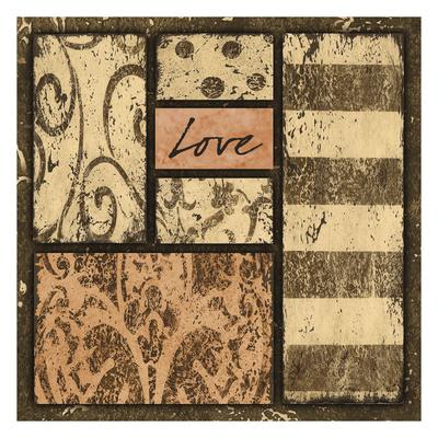 Neutral Love Prints by Carol Kemery