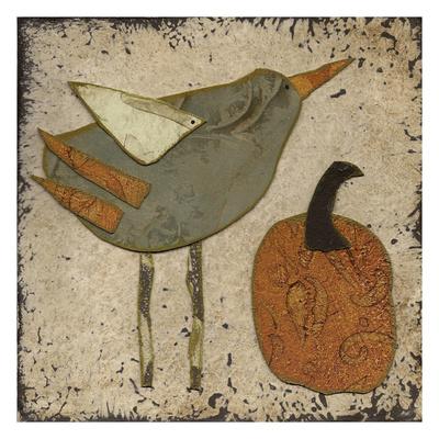 Harvest Bird I Prints by Carol Kemery